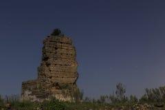 Арабские руины Стоковые Изображения