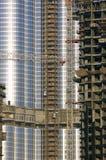 арабские эмираты Дубай burj возвышаются соединено стоковая фотография rf