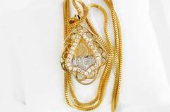 Арабские ювелирные изделия золота Стоковая Фотография