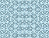 Арабский абстрактный безшовный орнамент Стоковые Изображения RF