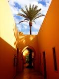 Арабский архитектурный стиль Стоковые Фотографии RF
