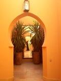 Арабский архитектурный стиль Стоковое фото RF