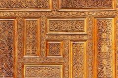 Арабский высекать древесины стоковые фотографии rf