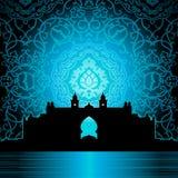 арабский дворец иллюстрация вектора