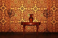 Арабский домашний интерьер Стоковое Изображение