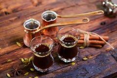 арабский кофе традиционный Стоковые Изображения RF