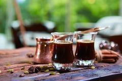 арабский кофе традиционный Стоковое фото RF