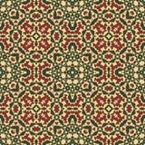 Арабский орнамент - безшовная картина стоковое фото