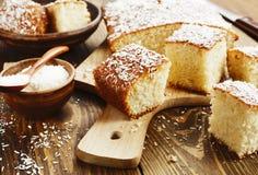 Арабский пирог манной крупы Стоковые Изображения RF