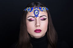 Арабский стиль женщины Стоковое Изображение
