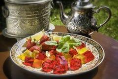 Арабский студень плодоовощ Стоковая Фотография RF