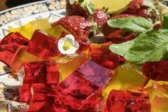 Арабский студень плодоовощ Стоковые Фотографии RF