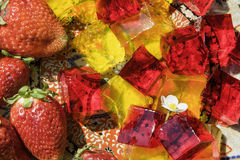 Арабский студень плодоовощ Стоковое фото RF