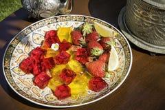Арабский студень плодоовощ Стоковое Фото