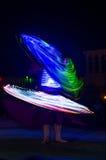 Арабский танцор выполняя a Стоковое Фото