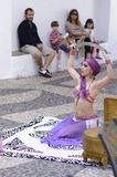 Арабский танцор стоковые изображения
