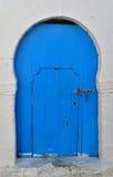 арабский тип Марокко двери Стоковая Фотография