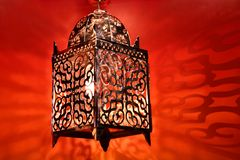 Арабский фонарик Стоковое фото RF