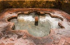 Арабский фонтан стоковое фото rf