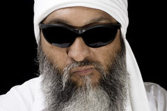 арабский холодный человек Стоковое фото RF
