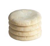 Арабский хлеб на белизне Стоковое Изображение RF