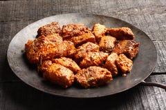 Арабское ед-вкусное жаркое овечки с специями и травами, Стоковое Изображение