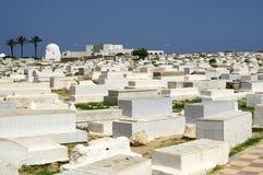 Арабское кладбище в Monastir Стоковые Изображения RF