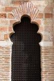 Арабское окно стиля Стоковые Изображения