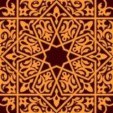Арабськое и исламское безшовное иллюстрация штока