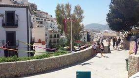 Араб выходит Ibiza вышед на рынок на рынок Испанию Стоковое фото RF