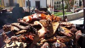 Араб выходит Ibiza вышед на рынок на рынок Испанию Стоковое Изображение