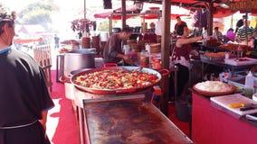 Араб выходит Ibiza вышед на рынок на рынок Испанию Стоковые Фотографии RF