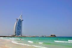 Араб Al Burj, Дубай Стоковые Изображения RF