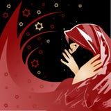 аравийская женщина Стоковое Изображение RF