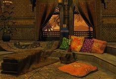 аравийская ноча иллюстрация вектора