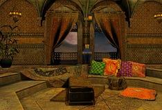 аравийская ноча иллюстрация штока