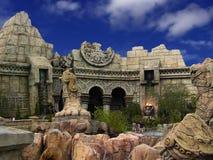 аравийские руины Стоковые Фотографии RF