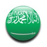 аравийский житель Саудовской Аравии флага Стоковое фото RF