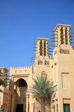 аравийский тип здания Стоковая Фотография