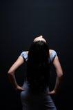 аравийское брюнет сексуальное Стоковые Фото