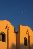 аравийское солнце вечера зодчества Стоковая Фотография RF