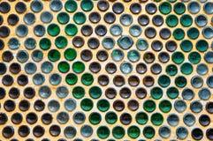 Аранжированное дно бутылки пива Стоковые Изображения RF
