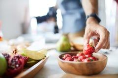 Аранжировать набор фотографии еды стоковое фото rf