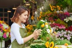 аранжировать цветки стоковая фотография