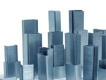 аранжирует как штапеля небоскребов стоковое изображение rf