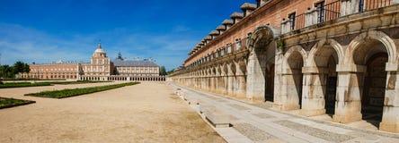 Аранхуэс, Испания 04/26/2008 Королевский дворец Aranj Стоковое Изображение