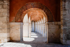 Аранхуэс, Spain-04/26/2008 Коридор королевского Стоковое фото RF