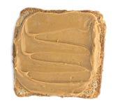 Арахисовое масло на здравице стоковое фото