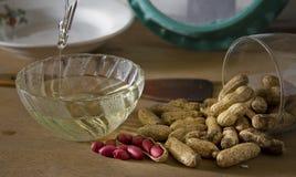 арахисы арахиса масла Стоковая Фотография