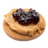 арахис варенья масла печенья Стоковое фото RF